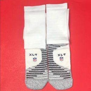 Men's Nike NFL White Elite Thigh High Socks Sz XLT